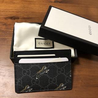 グッチ(Gucci)のGUCCI カードケース タイガー(名刺入れ/定期入れ)