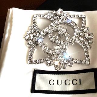 グッチ(Gucci)のGUCCI 美しいGGマークブローチ 未使用(ブローチ/コサージュ)