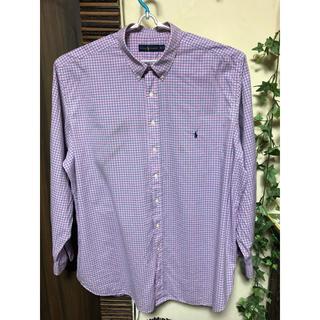 ラルフローレン(Ralph Lauren)のラルフローレン ストライプボタンダウンシャツ 3XLサイズ(シャツ)