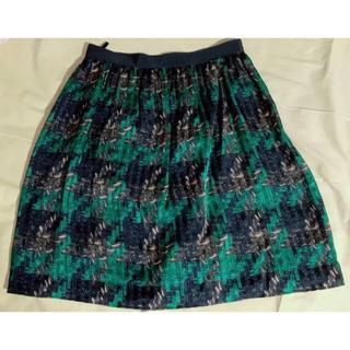 アナイ(ANAYI)の【アナイ】シルク100%膝丈スカート!新品同様(ひざ丈スカート)