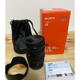 SONY - 超美品 SONY SEL1655G 16-55mm f2.8 ズームレンズ