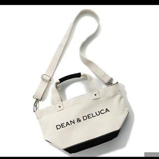 ディーンアンドデルーカ(DEAN & DELUCA)のショルダー付きキャンバストートバッグ Sサイズ 完売新品未使用(トートバッグ)