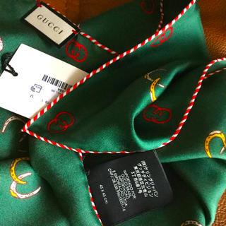 グッチ(Gucci)のGUCCI ミニスカーフ 未使用(バンダナ/スカーフ)