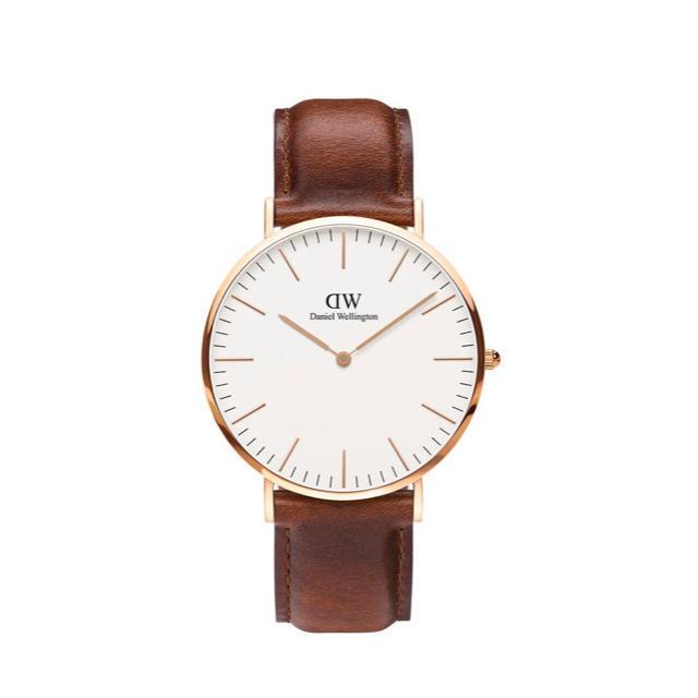 Daniel Wellington(ダニエルウェリントン)の【40㎜】ダニエル ウェリントン腕時計 DW00100106《3年保証書付》 レディースのファッション小物(腕時計)の商品写真
