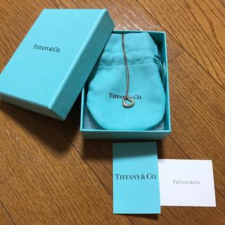 Tiffany & Co. - ティファニー オープンハートネックレス