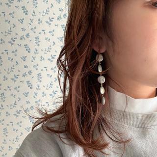 アメリヴィンテージ(Ameri VINTAGE)のラスト2点 pearl long pierce(ピアス)