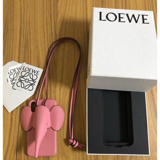 ロエベ(LOEWE)のLOEWE ロエベ エレファント iPhone X/XS ケースピンク(iPhoneケース)