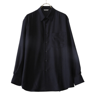 COMOLI - AURALEE SUPER LIGHT WOOL SHIRTS 4