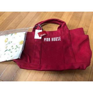 ピンクハウス(PINK HOUSE)のピンクハウス キャンバスバック 新品タグ付き(トートバッグ)