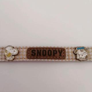スヌーピー(SNOOPY)のペットパラダイス 首輪 SSサイズ スヌーピー(犬)