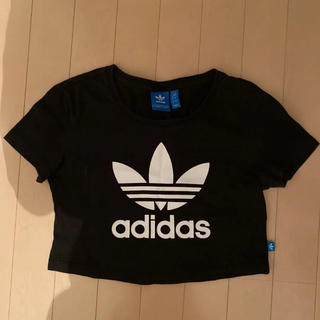 adidas - adidasoriginalsショート丈 Tシャツ