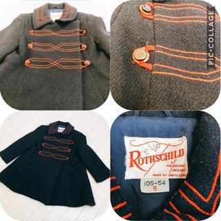 ファミリア(familiar)の60年代 ヴィンテージ wool コート Rothschild ビンテージ(コート)