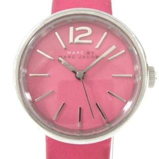 マークバイマークジェイコブス(MARC BY MARC JACOBS)のマークジェイコブス 腕時計 MBM1369 ピンク(腕時計)