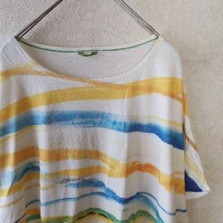 フォーティーファイブアールピーエム(45rpm)のパラスパレスドルマンスリーブコットンTシャツ(Tシャツ(半袖/袖なし))