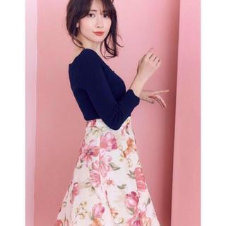 リランドチュール(Rirandture)の花柄スカート(ひざ丈スカート)