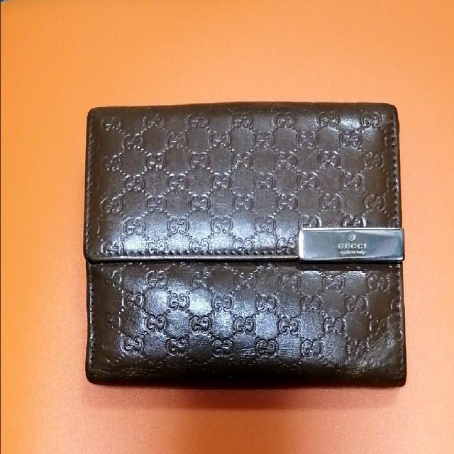 Gucci(グッチ)のマイクログッチ二つ折り財布 メンズのファッション小物(折り財布)の商品写真