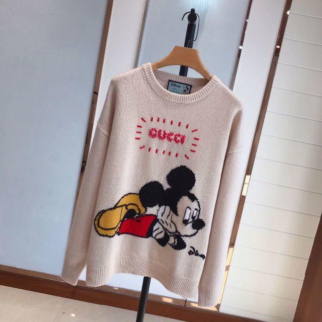 Gucci(グッチ)のGUCCI★Disney x Gucciウールセーター レディースのトップス(ニット/セーター)の商品写真