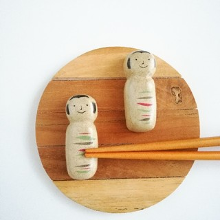 コケシ 箸置きセット(テーブル用品)