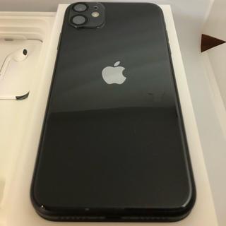 iPhone - iPhone 11 64GB SIMフリー ブラック 黒 バッテリー100%