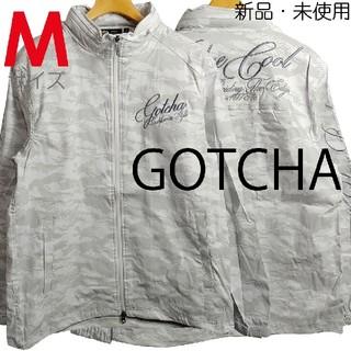 ガッチャ(GOTCHA)の新品 Mサイズ GOTCHA ガッチャ スタンドジャケット 白カモフラ 1302(ウエア)