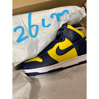 NIKE - ② ナイキ ダンク ハイDunk High Maize and Blue