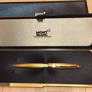 モンブラン(MONTBLANC)のモンブラン ボールペン ゴールド(ペン/マーカー)