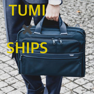 TUMI - TUMI for SHIPS ALPHA3 3WAYスリムブリーフ 別注