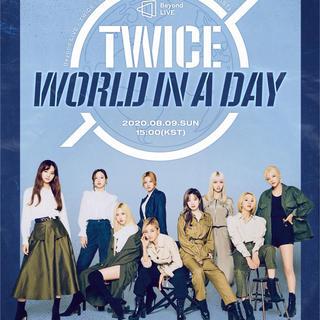 """ウェストトゥワイス(Waste(twice))のTWICE💛 BeyondLIVE  """"WORLD IN A DAY""""(ミュージック)"""