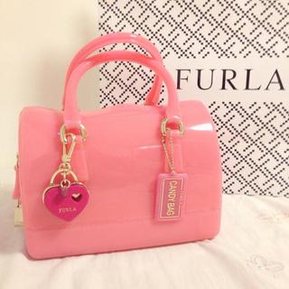 フルラ(Furla)の美品 FURLA キャンディバック(ハンドバッグ)