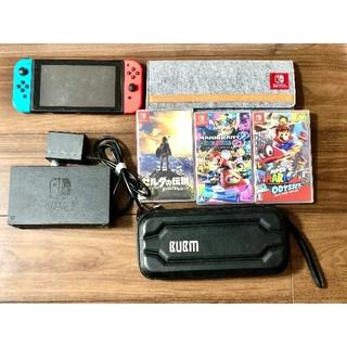 Nintendo Switch - ニンテンドーswitch本体とソフト3つ