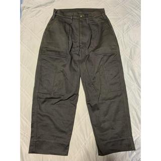 コモリ(COMOLI)の16AW TUKI Combat Pants German Grey 1(ワークパンツ/カーゴパンツ)
