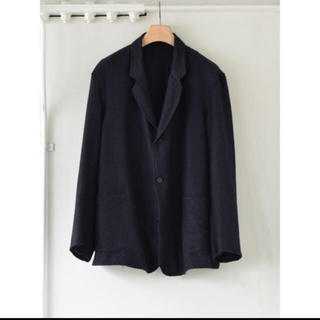 コモリ(COMOLI)のcomoli コモリ 20aw ウールシルクジャケット ネイビー 3(テーラードジャケット)
