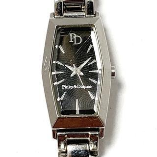 ピンキーアンドダイアン(Pinky&Dianne)のピンキー&ダイアン 腕時計 1N01-0MG0 黒(腕時計)