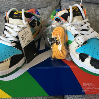"NIKE - NIKE SB DUNK LOW ""BEN & JERRY'S"" 訳あり凹み"