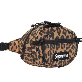 Supreme - supreme waist bag ウエストバッグ leopard レオパード
