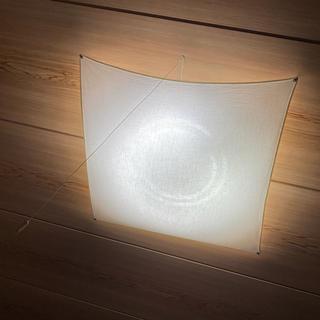 ムジルシリョウヒン(MUJI (無印良品))の無印 帆布シーリングライト 蛍光灯(天井照明)