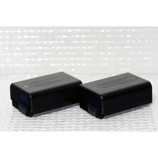 ソニー(SONY)のSony ソニー デジカメ用バッテリー NP-FW50 純正品 2個(バッテリー/充電器)