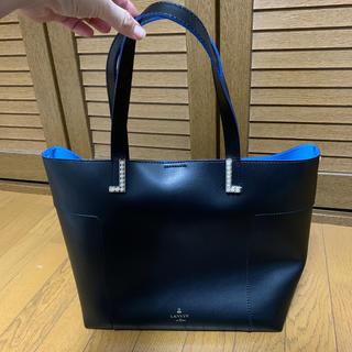 LANVIN en Bleu - ランバンオンブルー パール付きトートバッグ