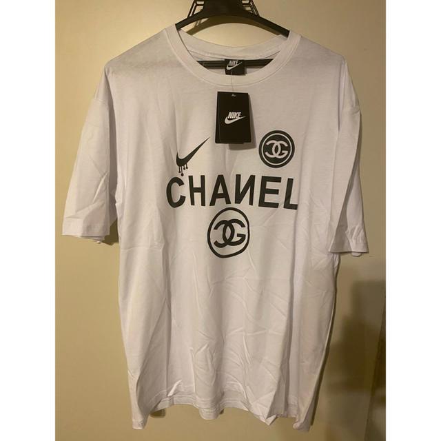 パロディーシャツ XL メンズのトップス(Tシャツ/カットソー(半袖/袖なし))の商品写真