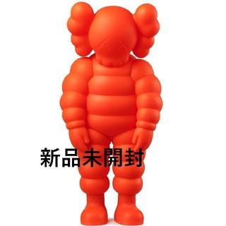 メディコムトイ(MEDICOM TOY)のKAWS WHAT PARTY orange カウズ 新品未開封(その他)