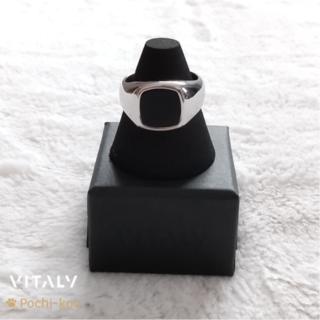 セール中 日本未入荷 Vitaly VAURUS リング 指輪 16号 銀色(リング(指輪))