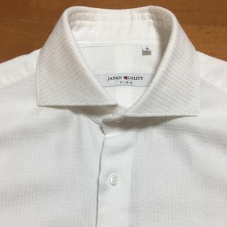 THE SUIT COMPANY - スーツカンパニー【JAPAN QUALITY】ビジネスシャツ 織柄 39 美品