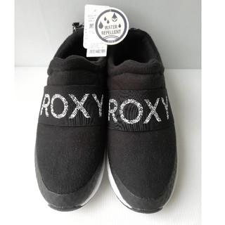 Roxy - 新品 24 スリッポン スニーカー レディース 黒 24cm