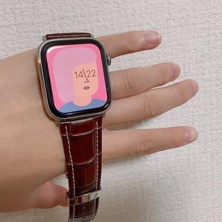 アップルウォッチ(Apple Watch)のApple Watch 44mm GPS Series5 チタニウムケース(腕時計(デジタル))