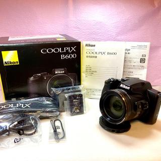 Nikon - Nikon COOLPIX Bridge COOLPIX B600 BLACK