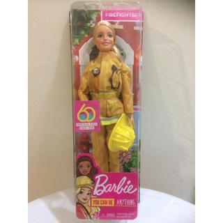 バービー(Barbie)のバービー 60周年アニバーサリー 消防士(ぬいぐるみ/人形)
