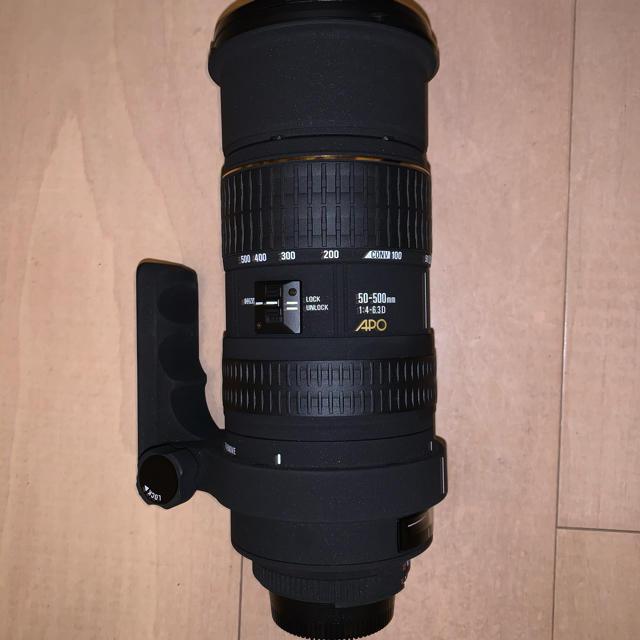 SIGMA(シグマ)のSIGMA 50-500 スマホ/家電/カメラのカメラ(レンズ(ズーム))の商品写真