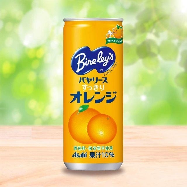アサヒ(アサヒ)のアサヒ飲料 バヤリース オレンジ 245ml × 30本 1ケース 1箱 30缶 食品/飲料/酒の飲料(ソフトドリンク)の商品写真
