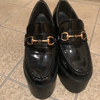 evelyn - evelyn  厚底 靴 ローファー