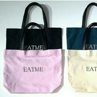 イートミー(EATME)のEATMEイートミーレディロゴトートバッグエコバッグ(トートバッグ)